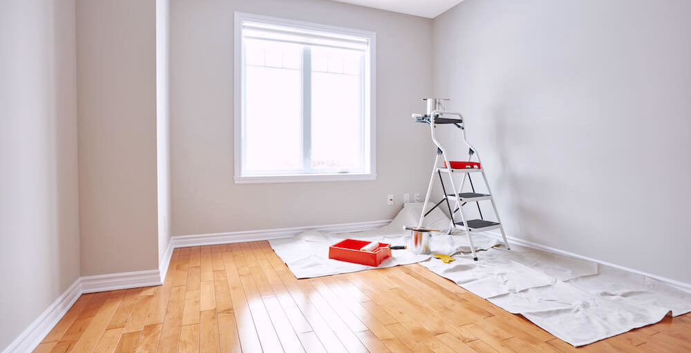 Die Malerei Falkner aus Aschach / Eferding führt die Innenraum-Malerei für Ihren Neubau durch
